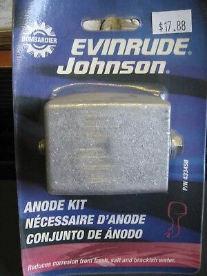 Bombardier Evinrude Johnson Anode Part # 433458