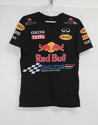 Red Bull Racing F1 Team Motorsport Formula 1 T-Shirt Shirt Tee size S