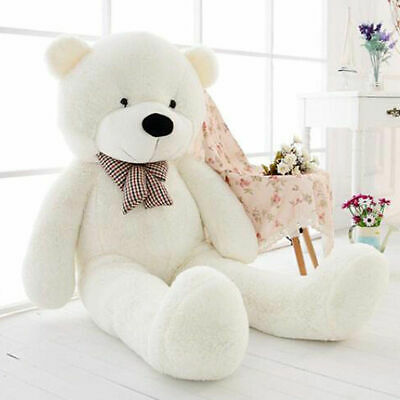 60-200CM Large Teddy Bear Giant Big Soft Plush Toys Empty Cover Kids Good Gifts