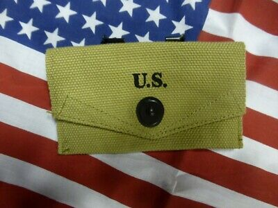Pochette pour pansement FIRST AID Mle 42 US WW2 ( Airborne USA Paratrooper )