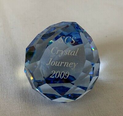 Swarovski Briefbeschwerer, Paper weight, SCS Crystal Journey 2009