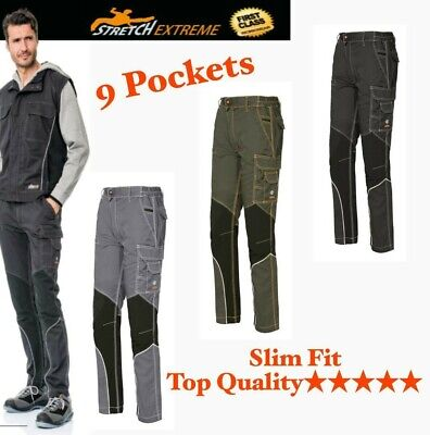 Issa Stretch Extreme multi-pocket work trousers strong PPE Long life Trousers