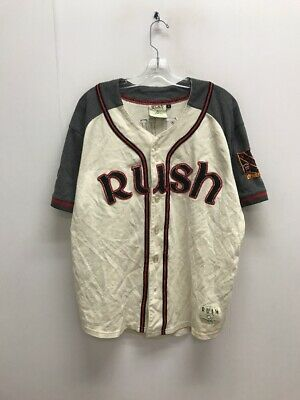 Vintage 2007 Rush Snakes & Arrows Concert Tour Baseball Jersey Shirt Size Large