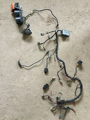Yamaha TZR250 TZR 250 1KT 2MA Wiring Loom Harness & Some Relays