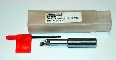 "Micro 100 Micro-Dex 5/8"" x 2 FLT  Coolant APKT Indexable End Mill Cutter"