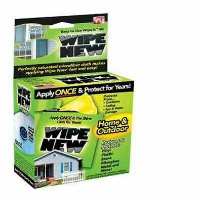 Wipe New, Easy To Use Wipe-It Kit - For Home And Outdoors - Brand New