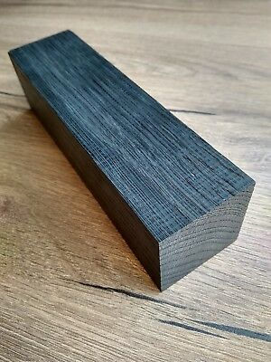 Black bog oak (morta wood) blanks for knife handles 39*39*153