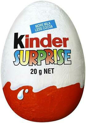 New Kinder Surprise Eggs with Kids Toy - Pack of 48 X 20g BB 05/04/2019