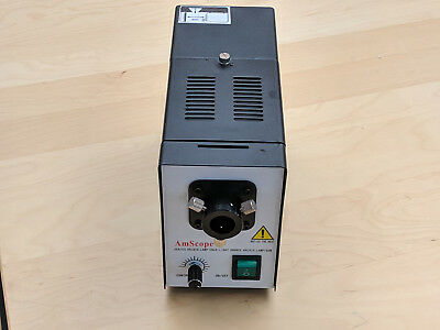 AmScope HL250-B Fiber Optical Microscope Illuminator 150W Light Source