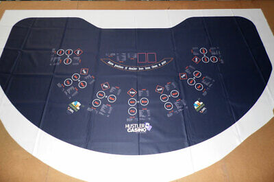 SPECIALTY GAME Table Layout - 7 Player OVERSIZE - Ultra-Glide™ Polyester - NEW