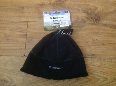 28e62c92acb Trekmates Thermal Classic Hat - One Size - Black  Charcoal - Men s