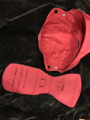 Babyzen Yoyo 6+ Stroller Pink Color Pack Sunshade Canopy Hood & Seat Cushion