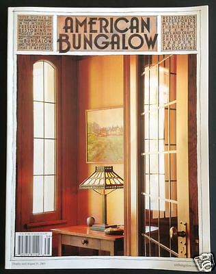 American Bungalow Magazine Back Issue #38 Summer 2003 Arts Crafts Mission Design