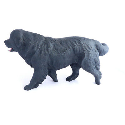 Newfoundland Vintage North Light Dog Figure Made in England