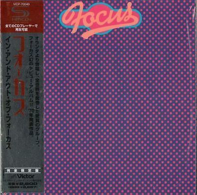 FOCUS-IN AND OUT OF FOCUS-JAPAN MINI LP SHM-CD Ltd/Ed G00
