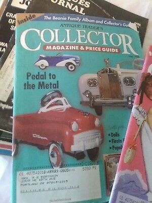 Vintage Lot Of 6 Antique Traders Collector Magazine & Price Guide