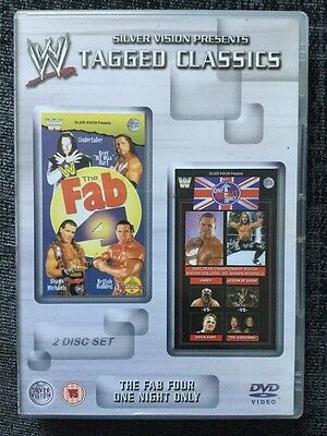 WWE Tagged Classics - The Fab Four & One Night Only - WWF Rare