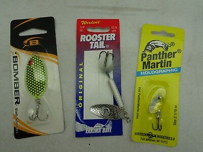 """5 ct Bomber Jointed Wake Minnow 5 3//8/"""" Multi Color CB26 3//4 oz"""