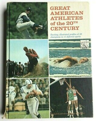 Great American Athletes of the 20th Century Zander Hollander (Hardcover, 1966)