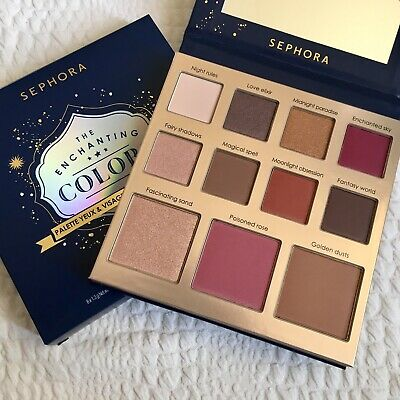Genuine SEPHORA The Enchanting Colors Eye & Face Palette BNIB Eye Blush Bronzer