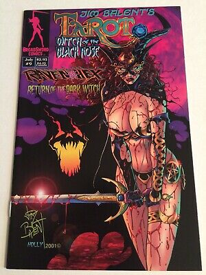 Broadsword Comics Jim Balent's Tarot Witch Of The Black Rose #9A Golightly Cover