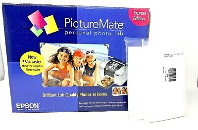 Epson Picture Mate Personal Photo Lab Express Edition With Photo Paper