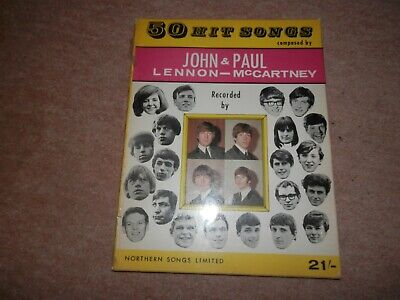 The Beatles 50 Hit Songs John Lennon Paul McCartney Northern Songs Limited 1965