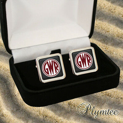 Great Western Railway Gwr Men's Cufflinks + Gift Box Engraving