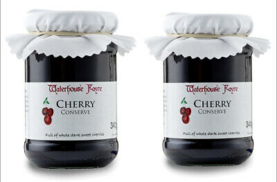 Two Jars of Cherry Conserve Jam 340g From Exmoor