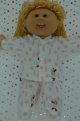 """Play n Wear Doll Clothes For 16""""Cabbage Patch PJ'S~FLANNELETTE PANTS~TOP~BOOTIES"""
