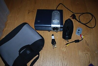 BENQ DLP Projector model no PB6100 with power lead/AV lead and padded case