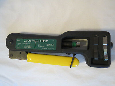 CAT-AS: 'All Series' Compression Tool by Ripley cablematic #37720 - 59/6 - 7/11