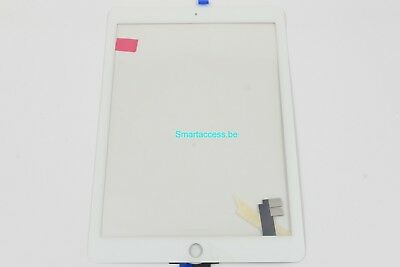 Vitre tactile iPad Air 2 Blanc