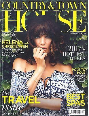 Country & Town House Magazine Helena Christensen NEW