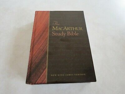 The Macarthur Study Bible ~ New King James Version [NKJV] hardcover