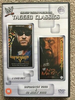 WWE - Tagged Classics Unforgiven & No Mercy 2000 (DVD) Rare & Deleted WWF Rare