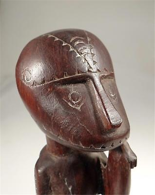 Old Massim  Ancestor Figure Milne Bay Papua New Guinea