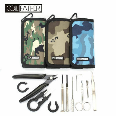 Coil Father Vape DIY Tool Kit Coil Wire Jig Tweezers Tools For RDA RTA RBA RDTA