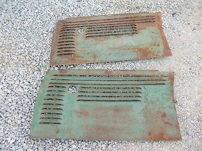 Oliver 70 tractor Factory Original front engine side cover curtain panel panels