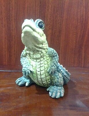 Alligator resin figurine - Comical whimsical NEW