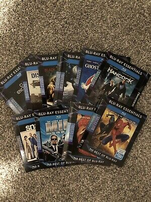 Blu Ray Essentials Slipcover Only Lot Of 10 Rare OOP