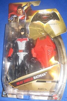 Dc Universe Comics Heat Shield Batman Dawn Of Justice Collector Figure, New