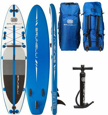 Brunelli 10.8 Premium Sup Board Stand Up Paddle Surf-Board Double Couche 325cm