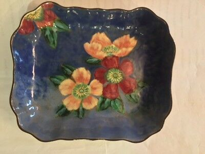 Royal Doulton England Hand Painted Wild Roses Platter