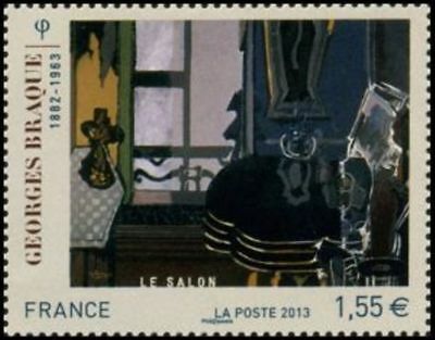 "TIMBRE FRANCE NEUF 2013 ""georges braque"" Y&T 4800"
