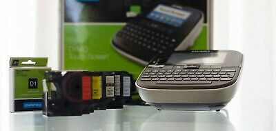 DYMO Label Manager 500TS D1 Series touch screen label maker with 10cassettes