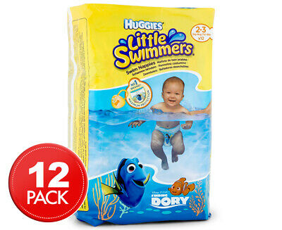 Huggies Little Swimmers 3kg-8kg 12pk Nappies