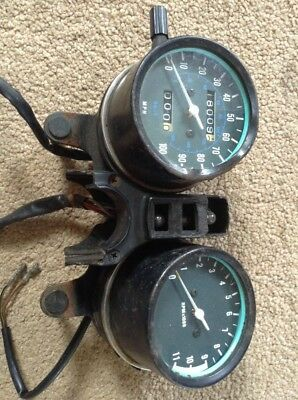 Kawasaki Z200 Z 200  Speedo Clocks  Showing 18009 Miles