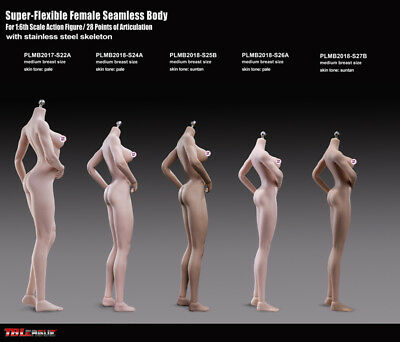 1/6 Phicen S26A PLMB2018-S26A Female Nude Body stand 270mm Pale Medium Breast si