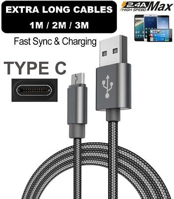 For Samsung Galaxy S10, S10+ Plus Type C USB_C Sync Charger Charging Power Cable